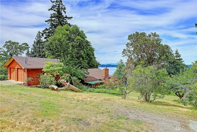 Camano Island Single Family Home For Sale: 4348 S Camano Dr