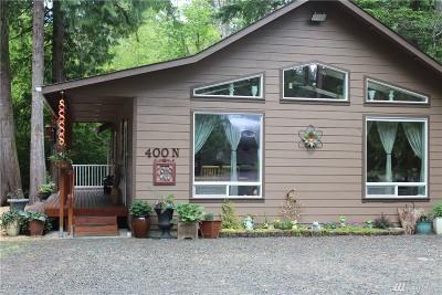 Mason County Single Family Home Pending: 400 N Duckabush Dr E