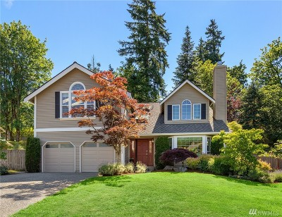 Sammamish Single Family Home For Sale: 3103 213th Place SE