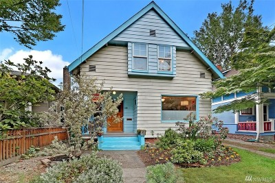 Seattle Single Family Home For Sale: 218 19th Ave E