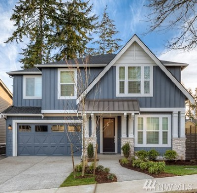 Redmond Single Family Home Contingent: 17290 NE 116th (Lot 4) Wy