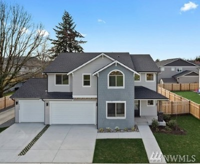 Puyallup Single Family Home For Sale: 7817 124th St Ct E #5