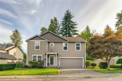 Puyallup Single Family Home Contingent: 13116 168th St Ct E