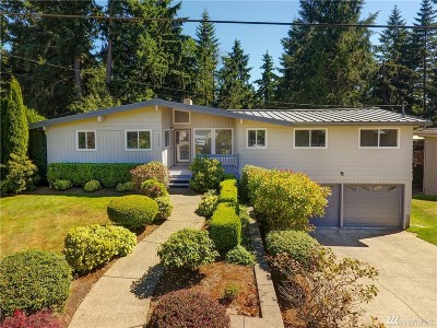 Bellevue Single Family Home For Sale: 16445 SE 16th St
