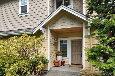 Edmonds Condo/Townhouse For Sale: 8509 Bowdoin Wy #7
