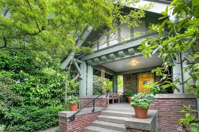 Seattle Single Family Home For Sale: 1154 20th Ave E