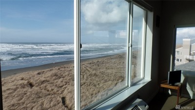 Grays Harbor County Condo/Townhouse For Sale: 1335 Ocean Shores Blvd #S-54