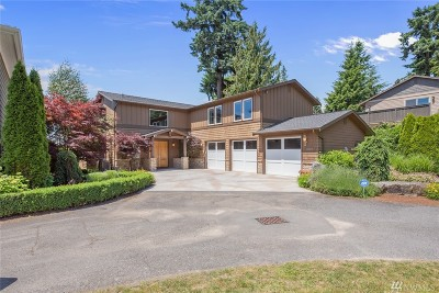Kirkland Single Family Home For Sale: 9222 112th Ave NE