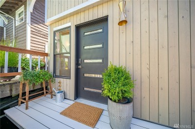 Seattle Single Family Home For Sale: 2727 Fairview Ave E #A-3