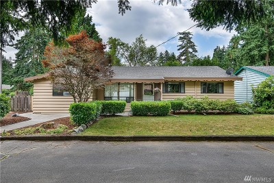 Shoreline Single Family Home For Sale: 925 NE 178th Place