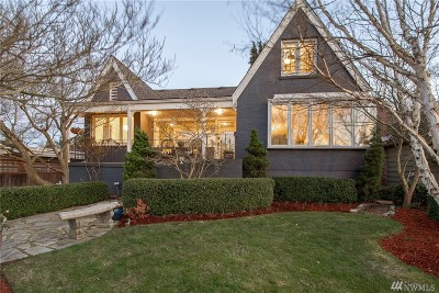 Seattle Single Family Home For Sale: 3444 Magnolia Blvd W