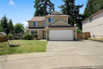 Olympia Single Family Home For Sale: 8802 Milbanke Dr SE