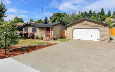 SeaTac Single Family Home For Sale: 20605 12th Place S