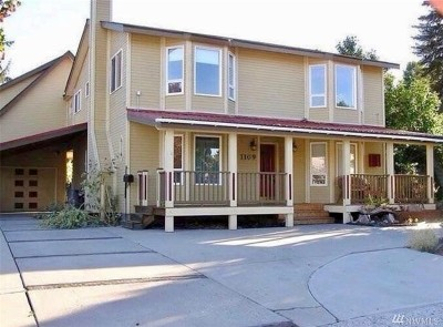 Wenatchee Single Family Home For Sale: 1109 Jefferson St