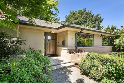 Seattle Single Family Home For Sale: 1817 40th Ave E