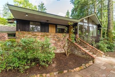 Shoreline Single Family Home For Sale: 17007 25th Ave NE