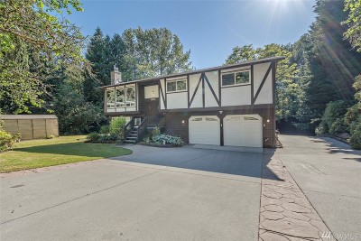 Woodinville Single Family Home For Sale: 18515 160th Ave NE