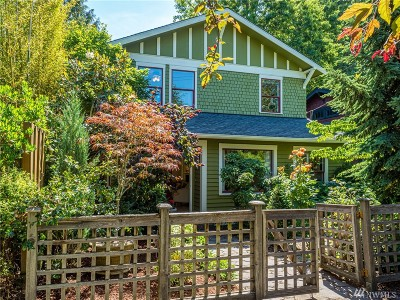 Seattle Single Family Home For Sale: 324 31st Ave E