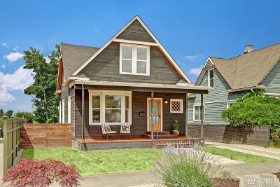 Seattle Single Family Home For Sale: 141 28th Ave