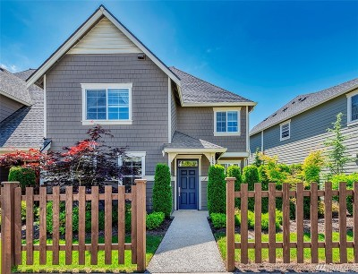 Redmond Condo/Townhouse For Sale: 12621 177th Ave NE #B