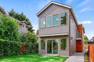 Seattle Single Family Home For Sale: 4254 S Spencer St