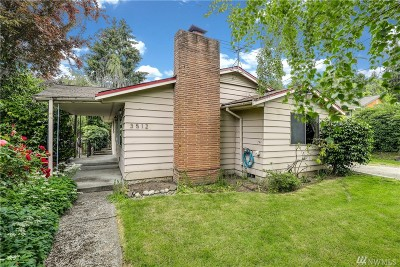 Seattle Single Family Home For Sale: 3512 NE 134th St