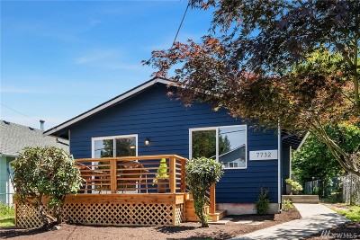 King County Single Family Home For Sale: 7732 17 Ave SW