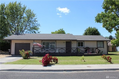Moses Lake Single Family Home For Sale: 1712 W Fern Dr