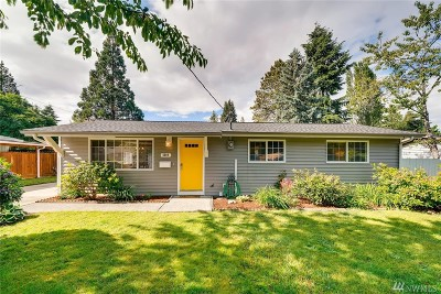 Mountlake Terrace Single Family Home For Sale: 5009 222nd St SW