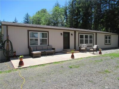 Mason County Single Family Home Pending Inspection: 1510 NE Tahuya River Dr