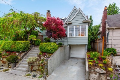 Seattle Single Family Home For Sale: 347 NW 76th St