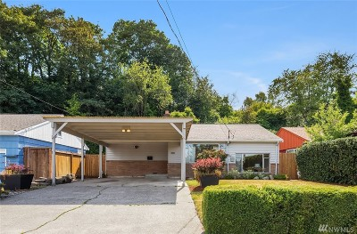 Seattle Single Family Home For Sale: 3847 Letitia Ave S