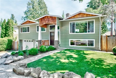 Shoreline Single Family Home For Sale: 19550 Fremont Ave N