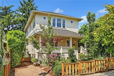 Seattle Single Family Home For Sale: 4023 Ashworth Ave N