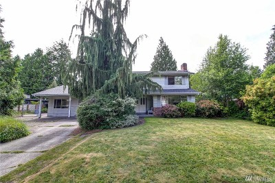 Edmonds Single Family Home For Sale: 19730 86th Place W