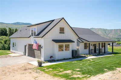 Chelan County Single Family Home For Sale: 45 Alexander Lane