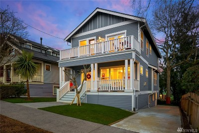 Seattle Single Family Home For Sale: 4012 2nd Ave NE