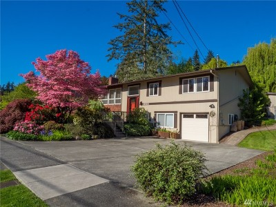 Lake Forest Park Single Family Home For Sale: 15855 37th Ave NE