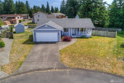 Spanaway Single Family Home For Sale: 18414 1st Avenue Ct E