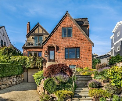 Seattle Single Family Home For Sale: 2416 Rosemont Place W
