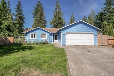 Gold Bar Single Family Home For Sale: 431 Evergreen Place