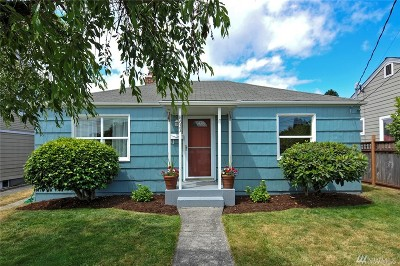 Seattle Single Family Home For Sale: 8633 36th Ave SW