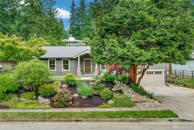Redmond Single Family Home For Sale: 9514 167th Ave NE