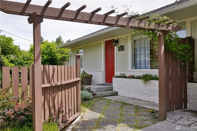 Mountlake Terrace Single Family Home For Sale: 3922 214th St SW