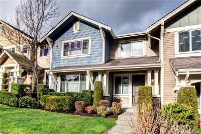Snoqualmie Condo/Townhouse For Sale: 34712 SE Jacobia St