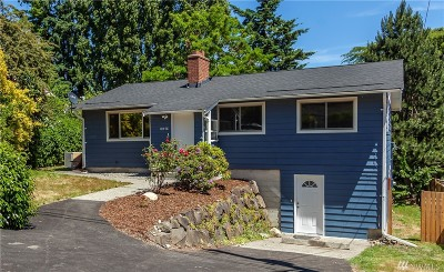 King County Single Family Home For Sale: 10448 9th Ave SW