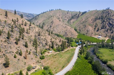 Chelan, Chelan Falls, Entiat, Manson, Brewster, Bridgeport, Orondo Residential Lots & Land For Sale: 8416 Entiat River Rd