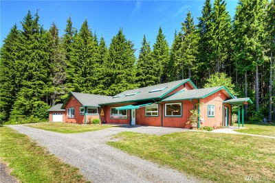 Granite Falls Single Family Home Contingent: 12733 Green Mountain Rd