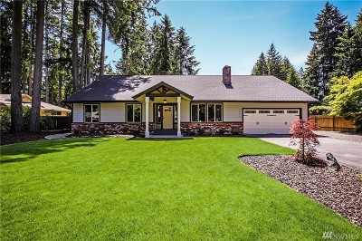 Port Orchard Single Family Home For Sale: 2992 SE Forest Villa Ct