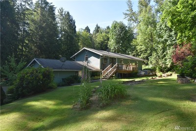 Sedro Woolley Single Family Home For Sale: 132 Alger Cain Lake Rd